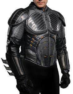 Leather Jacket Version of the Pre-Batman suit in Batman Begins.