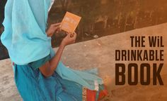 "The latest printed thing that can have positive effect on people's lives in areas where there is no access to clean water is called ""Drinkable Book""."