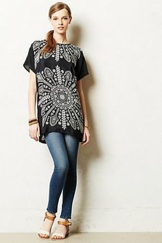 Perfect for summer in Austin...Cipresso Tunic #anthropologie