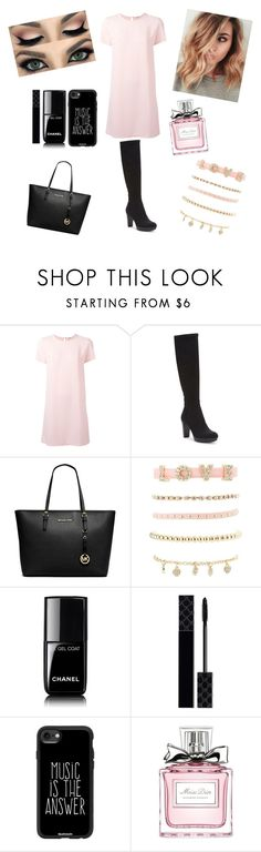 """""""Spring #9"""" by peterkonijn on Polyvore featuring mode, P.A.R.O.S.H., Donald J Pliner, Michael Kors, Charlotte Russe, Chanel, Gucci, Casetify en Christian Dior"""