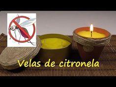 Velas de citronela, ¡eficaz antimosquitos!