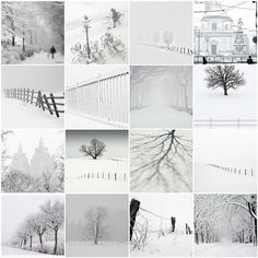 Winterwonderland#. Magnifique mosaïque d'hiver#. Mise en page de talent, à suivre à l'origine !