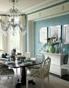 beautiful dining room.