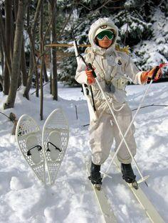 Vintage GI Joe Action Soldier, Ski Patrol Sets, # 7530 and # 7531