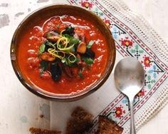 Roasted red pepper soup recipe