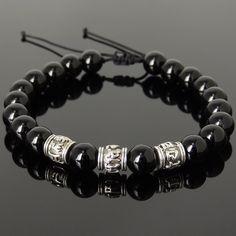 Zen Yoga Meditation Healing Bracelet - Protection, Spiritual, Grounding, Chakras, & Awareness - Handmade and Curated by Gem & Silver