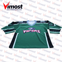Dye Sublimation customized ice hoekey uniforms wholesales for men hockey 140479b9c