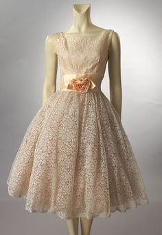 Exquisite 1950's party dress from Janet Schwarz of Woodland Farms Antiques. Gorgeous vintage fashion at it's best!