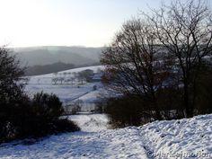 Januar im Westerwald
