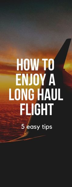 Learn how to enjoy and what to bring on your next long haul flight. Tips include what to expect, what to eat, whether to avoid the cocktails! Air Travel Tips, Europe Travel Tips, Travel Goals, European Travel, Time Travel, Travel Guides, Travel Destinations, Traveling Tips, Travel Hacks