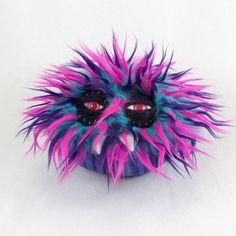 Baby Monster Plush by bearmojo on Etsy