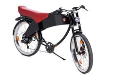 Lohner Stroler By Lohner—a two seater e-bike from the company, who together with Porsche, created the first ever electric hybrid car back in the Motorbikes, Bicycle, Motorcycle, Vehicles, Devil, Porsche, Dragon, Cars, Future
