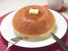 大きな大きなホットケーキ