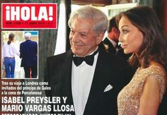 Escritor peruano Mario Vargas Llosa asegura estar separado de su esposa