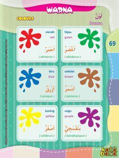 Baca Online Kamus Pintar Bergambar 3 Bahasa: Indonesia, Inggris, Arab KATA BACA Arabic Lessons, Class Decoration, School Worksheets, Arabic Language, Learning Arabic, Book Layout, Kids Reading, Book Activities, Learn English