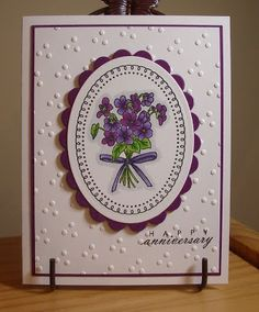 My Stamping Addiction: Sizzix embossing folder