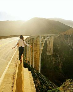 Bixby Bridge. Big Sur California. #followmefaraway Photo by @jess.wandering by followmefaraway
