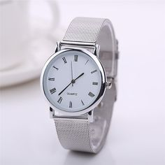 Cheap wristwatch women, Buy Quality wristwatch directly from China wristwatch band Suppliers:                   2015 New Fashion Silver Plated Stainless Steel Quartz Wrist Watch Man Women Wristwatches For Love