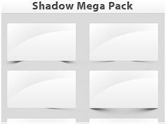 Shadow Mega Pack Freebie designed by Paul Flavius Nechita . Connect with them on Dribbble; Mega Pack, User Interface, Shadows, Packing, Design, Bag Packaging, Darkness, Ombre