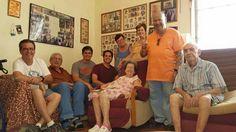 Titi Irma and Miguel Angel..and family.  Titi Irma's birthday