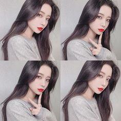이진아(@ojin.ao) • Instagram 사진 및 동영상 Girls With Black Hair, Uzzlang Girl, Disney Frozen Elsa, Cute Korean Girl, Ulzzang Fashion, Cute Couples, Photoshoot, Photo And Video, Beauty