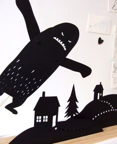 By Owly Shadow Puppets on Etsy