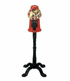 Carousel King Gumball Machine with Stand by Carousel, http://www.amazon.ca/dp/B0089T6SSW/ref=cm_sw_r_pi_dp_yjhttb0S3D71B