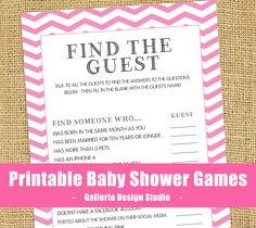 Fun Baby Shower Games Only: Ice Breakers, Funny, Traditional, Coed | Baby  Shower Games And Activities | Pinterest | Fun Baby Shower Games, Fun Baby  And Baby ...