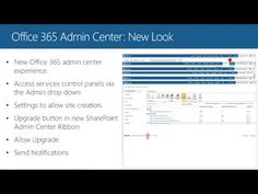 Office 365  Upgrading to the New SharePoint Online
