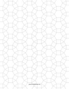This tessellation includes triangles and squares. Free to