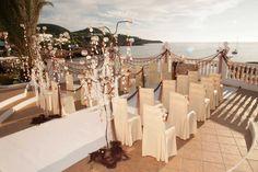 Cas Mila Ibiza Restaurant - Cala Tarida. Weddings, celebrations, all types events. Mediterranean cuisine and creative