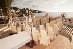 Weddings Gallery Cas Mila Ibiza Restaurant - Cala Tarida. Weddings, celebrations, all types events. Mediterranean cuisine and creative