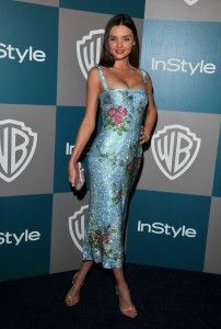 Fancy dresses worn by Miranda Kerr and Adriana limaFASHIONMG-STYLE | FASHIONMG-STYLE
