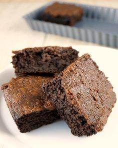 Flourless Cake Brownies with Mint-Chocolate Frosting {AIP/Paleo/Egg-Free} - Grazed and Enthused - made with sweet potatoes, avocado, and plantain!