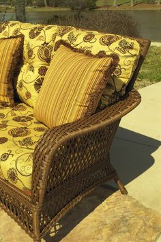 Outdoor Wicker Furniture Arm Detail. Huge Upgrades Over The Years To Make  It Closer And