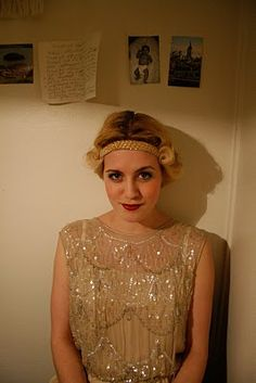 gorgeous flapper dress (Miriam's Kafferepet)