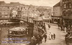 Seal The Whitby Draw Bridge. Now replaced by Whitby swing bridge Whitby England, Yorkshire England, North Yorkshire, Old Pictures, Old Photos, Vintage Photos, Whitby Abbey, Train Journey, Historical Images