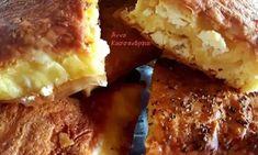 Φτιάξτε απλά τυροπιτάκια, με σπιτική, εύκολη και αφράτη-γιαουρτένια ζύμη. Mashed Potatoes, French Toast, Breakfast, Ethnic Recipes, Food, Whipped Potatoes, Morning Coffee, Smash Potatoes, Essen