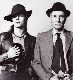 David Bowie et William Burroughs