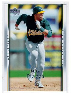 Sports Cards – 2007 UD Mike Piazza