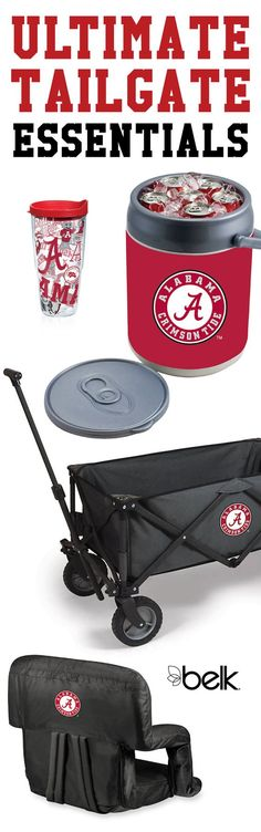 Looking for tailgate ideas to keep your beverages cold and fans happy all game? Start by transporting all of your tailgating essentials in a sturdy wagon with your team's logo. Fill up coolers with ice and cold drinks or keep them cold in insulated tumblers with your team's logo. There are so many ways to cheer on your team with good food, drinks and company. Shop tailgating gear in store or online at Belk.com.
