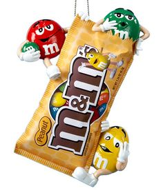 Another great find on #zulily! Bag of M&M's Ornament #zulilyfinds