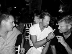 alexander skarsgard in sweden | Alexander at a party in Sweden in August (photo from Purple Magazine)