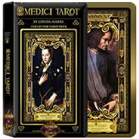 Medici Tarot By Londa R. Marks, at WorldOfTarot.com Oracle Cards, Tarot Decks, Runes, Tarot Cards, Mystic, Baseball Cards, Artwork, Google Search, Gifts