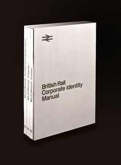 British Rail Corporate Identity Manual, you say...? Looks inspirational!