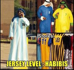 Jerseys in Middle East #Football, #Jersey, #WorldCup