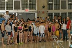 The Queens College men's and women's swimming and diving, and men's water polo teams recently gave back to the local community, as it played host to a novice swim meet. All of the $275 in proceeds will be donated to the Make-A-Wish Foundation. Roughly 48 participants and 65 spectators took part in the evening's festivities.
