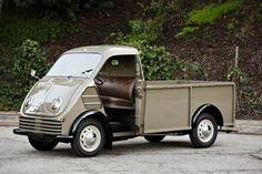 Built DKW Tough: Rare 1955 Schnellaster Tieflader 3=6 pickup heads to auction