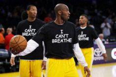 BongoSports: Kobe on T-shirt: i can't breath