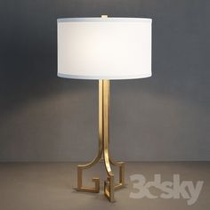 GRAMERCY HOME - LORY TABLE LAMP TL072-2-BRS
